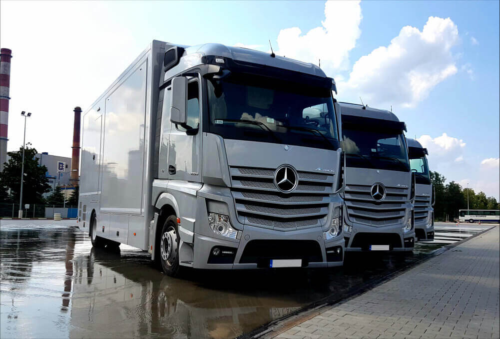 Truck Simulator TS-10 - Motion Systems
