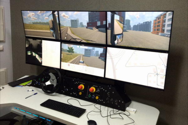 Truck Simulator TS-10 (Motion Simulator)